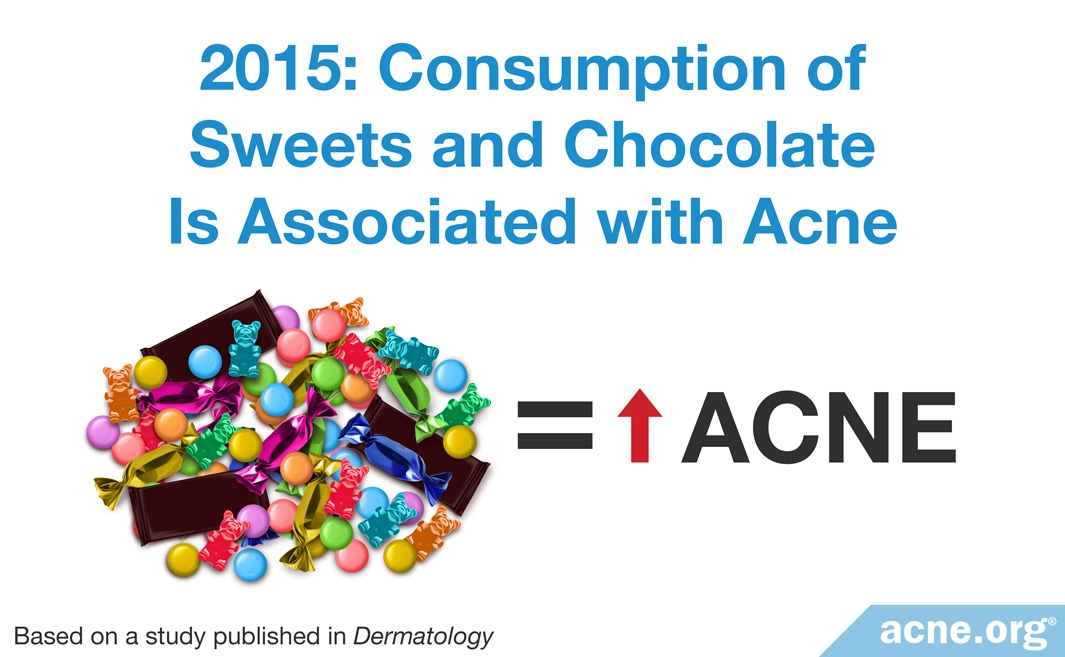 2015 Study: Consumption of Sweets and Chocolate Is Associated with Acne