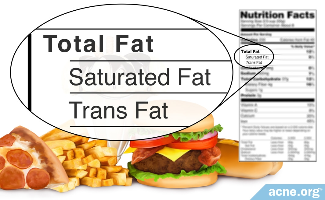 High-calorie Content of Fatty Foods