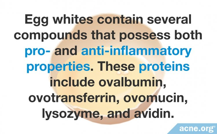 Egg Whites Contain Pro- and Anti-inflammatory Compounds