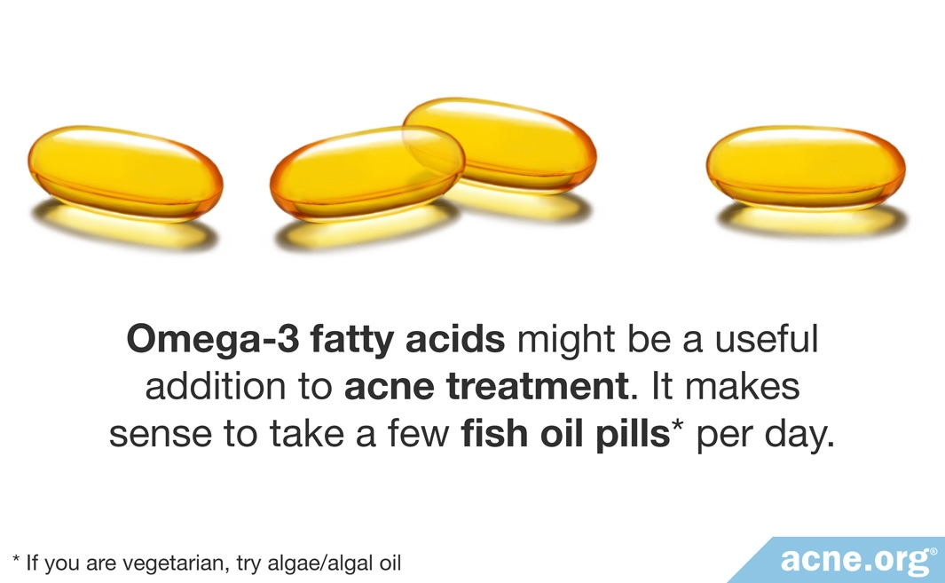 Omega-3 Fatty Acids Might Be a Useful Addition to Acne Treatment