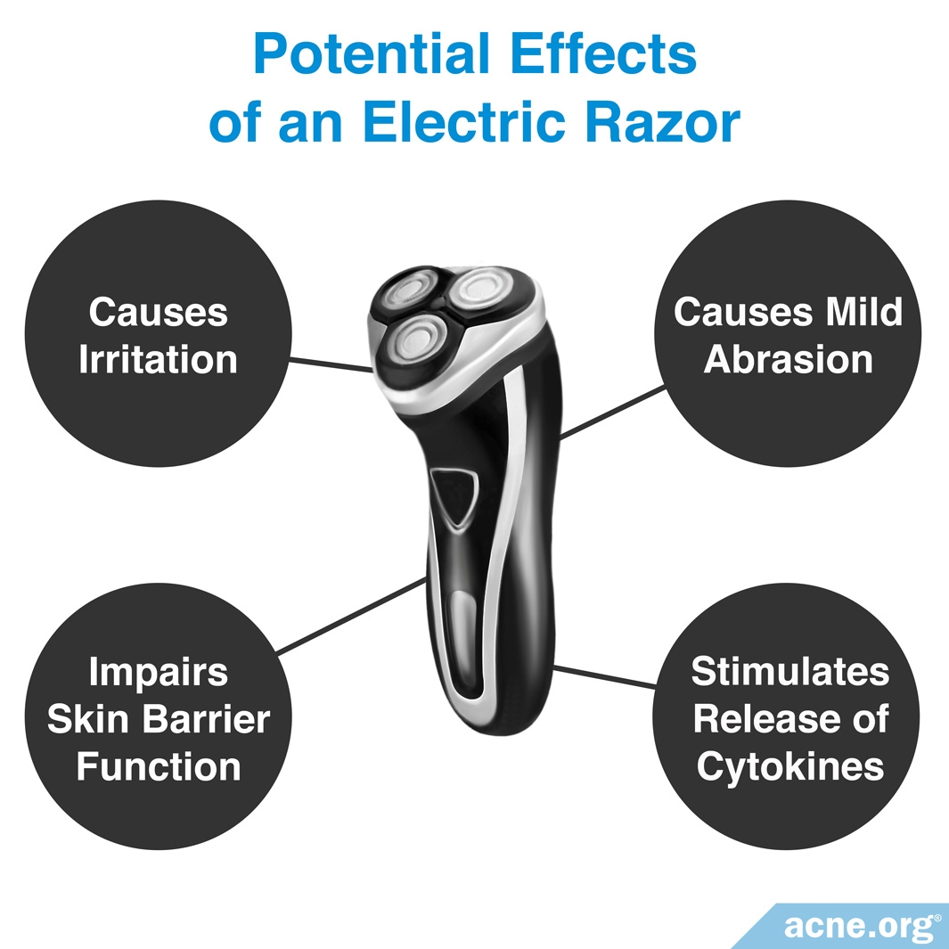 Potential Effects of an Electric Razor