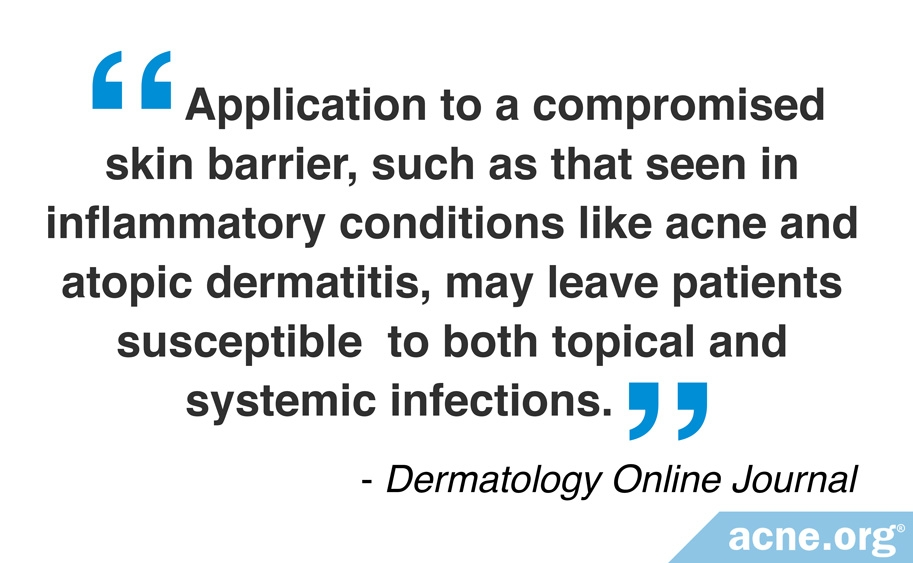 Compromised Skin Barrier and Inflammatory Skin Conditions