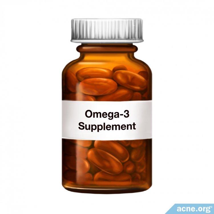 Omega-3 Supplement Bottle