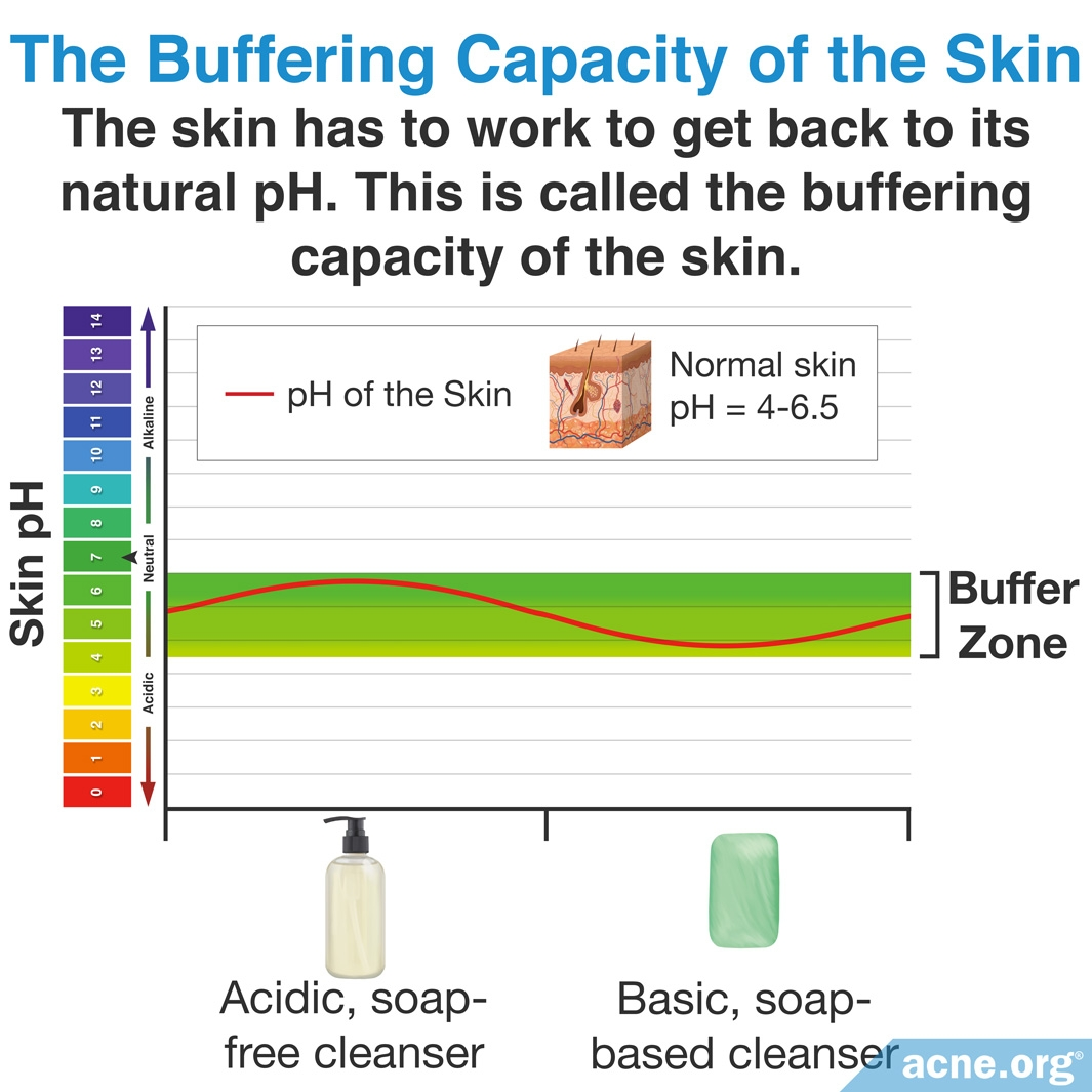 The Buffering Capacity of the Skin