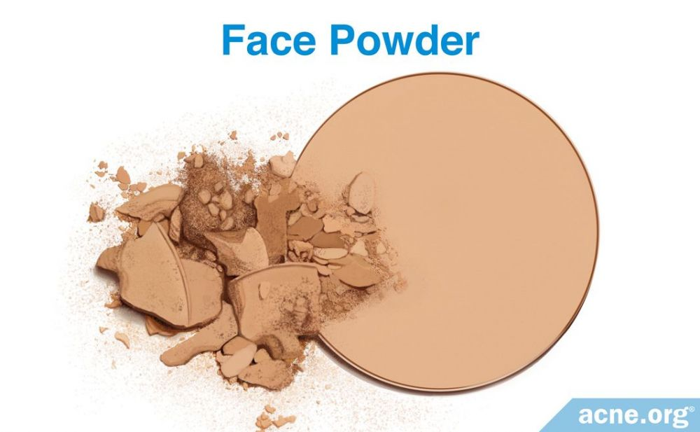 Face Powder and Acne-prone skin