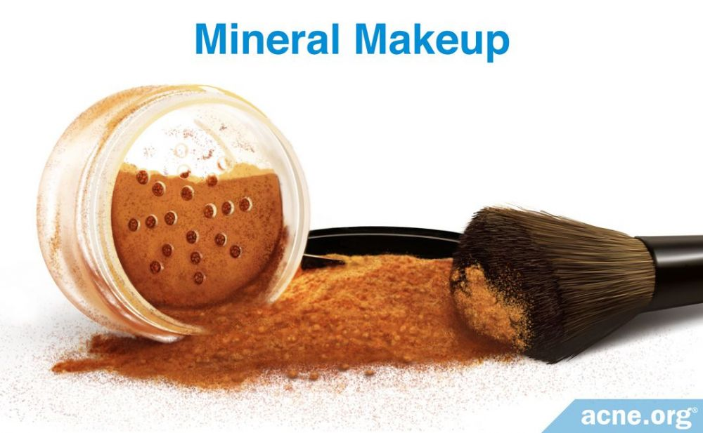 Mineral Makeup and Acne-prone Skin