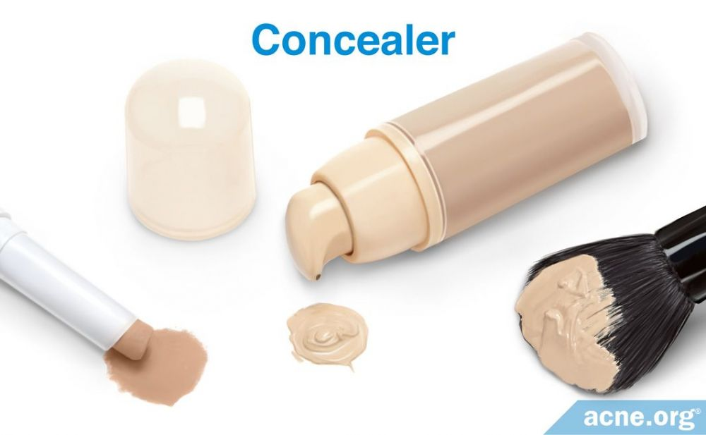 Concealer and Acne-prone Skin