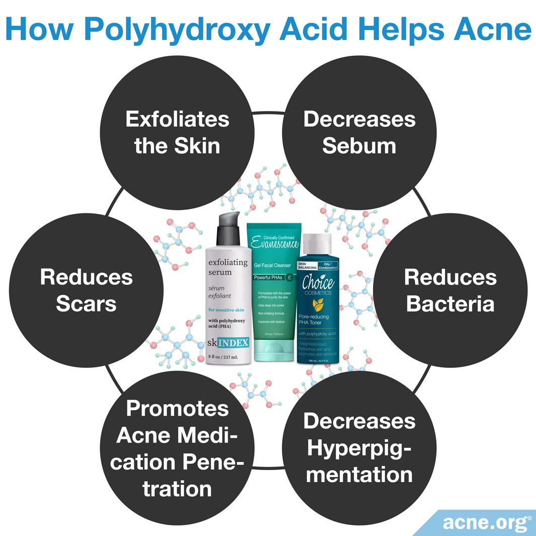 How Polyhydroxy Acid Helps Acne