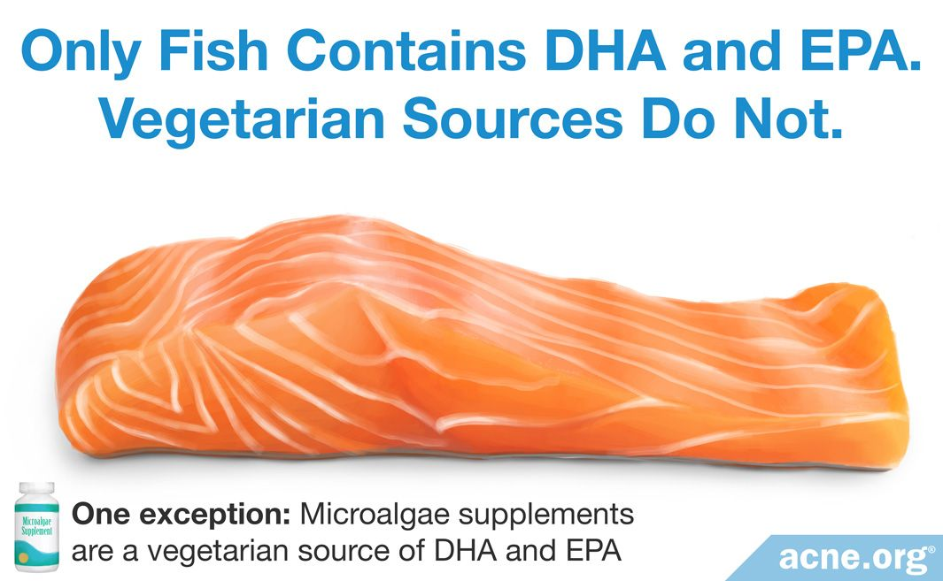 Only Fish Contains DHA and EPA. Vegetarian Sources Do Not.