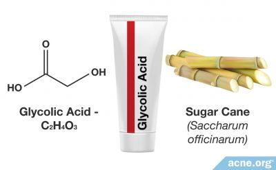 Glycolic Acid (Alpha Hydroxy Acid - AHA)