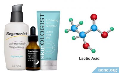 How Lactic Acid Helps with Acne
