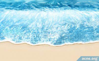 How Will Swimming in Seawater Affect My Acne?