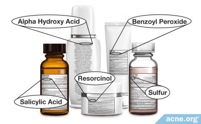 Over-the-Counter Treatment Ingredients