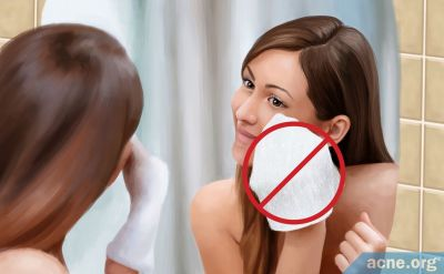 Why You Shouldn't Use a Washcloth to Wash Your Face
