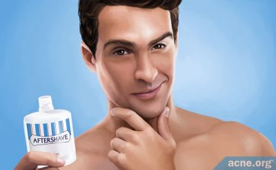 Are Aftershaves Safe to Use on Acne-Prone Skin?