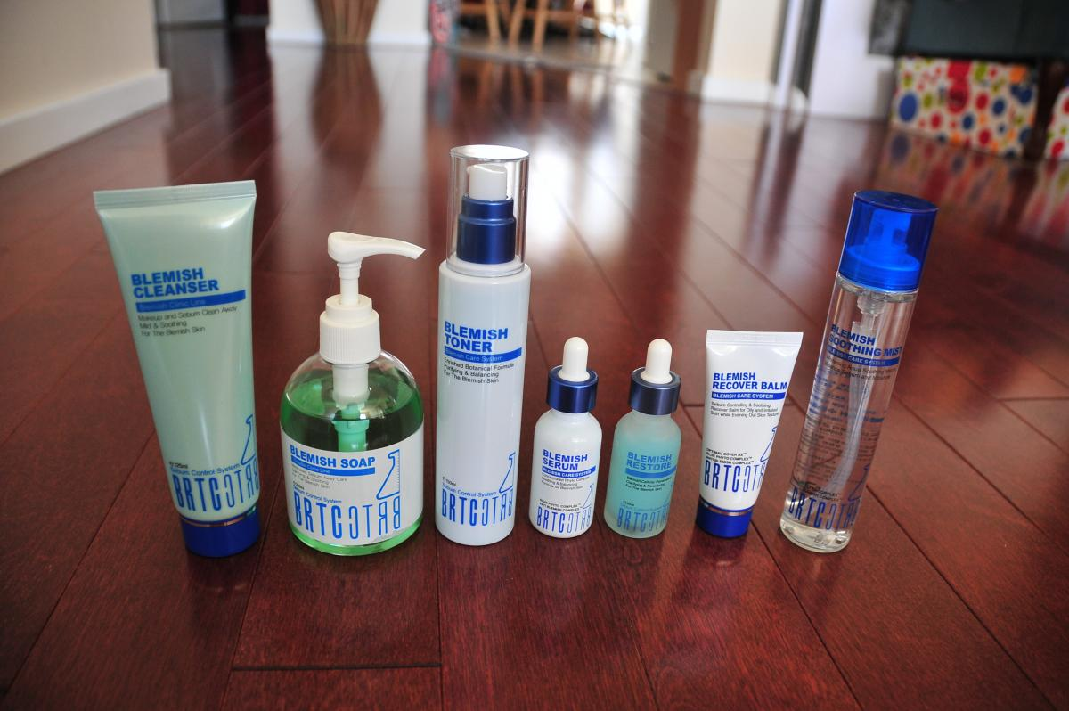 Brtc Product Line Over The Counter Acne Medications And