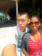 This was friend and I in Sunny florida in May of 2011 at Universal's islands of adventure---taken around afternoon....brightest sun time----post accutane